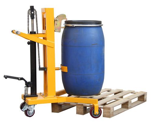 脚踏式液压油桶搬运车,脚踏式液压油桶搬运车